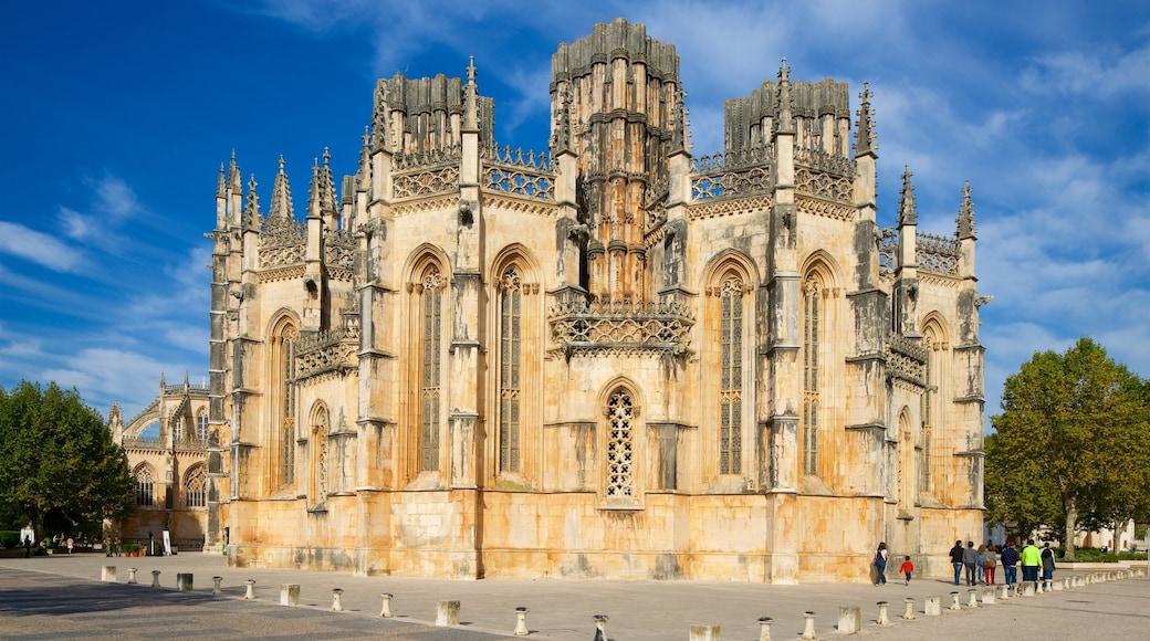 Batalha Monastery das einen historische Architektur und Kirche oder Kathedrale
