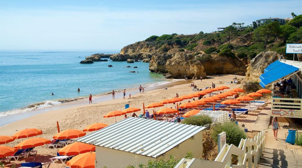 Oura Beach featuring a beach, general coastal views and rugged coastline
