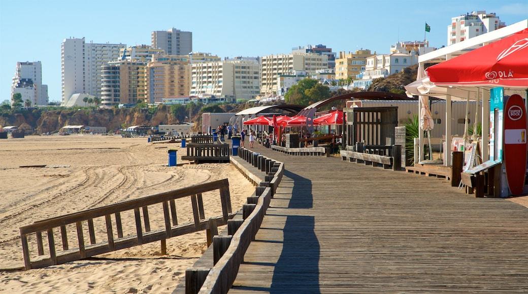 Rocha Beach which includes a beach
