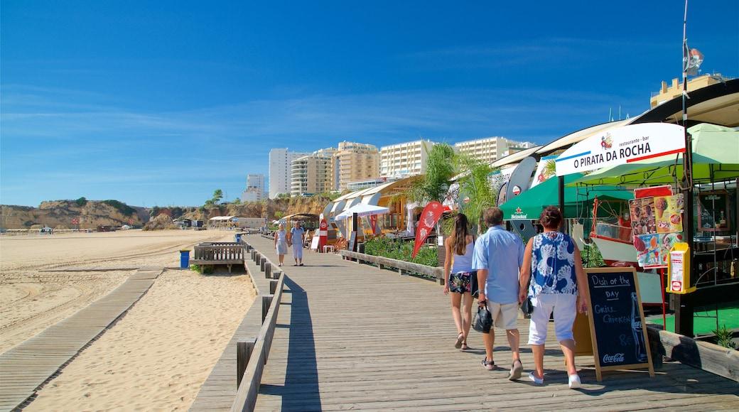 Rocha Beach featuring a beach, general coastal views and a coastal town