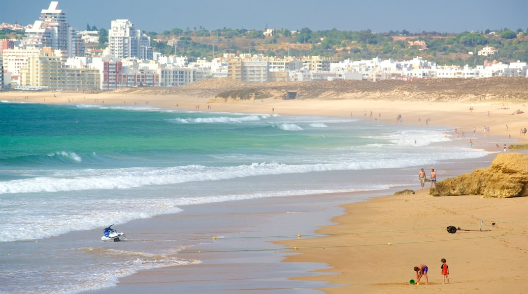 Gale Beach which includes general coastal views, a coastal town and a beach