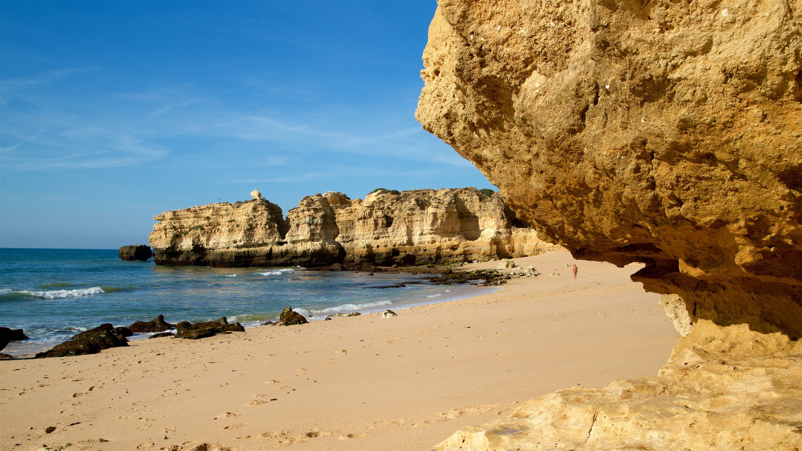 Strand São Rafael, Albufeira, Bezirk Faro, Portugal