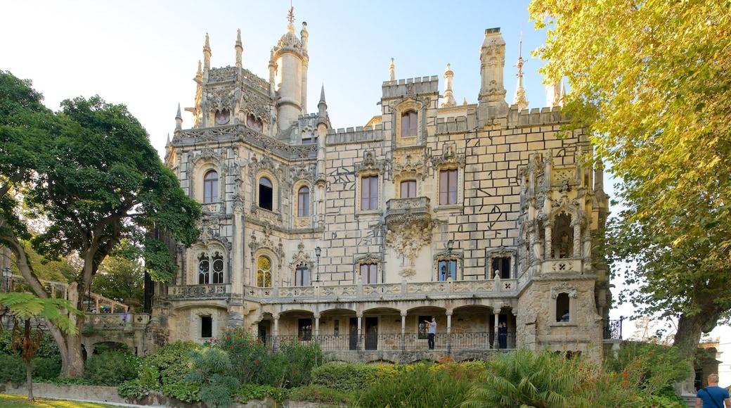 Quinta da Regaleira featuring heritage architecture