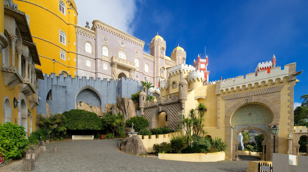 Pena Palace featuring heritage elements