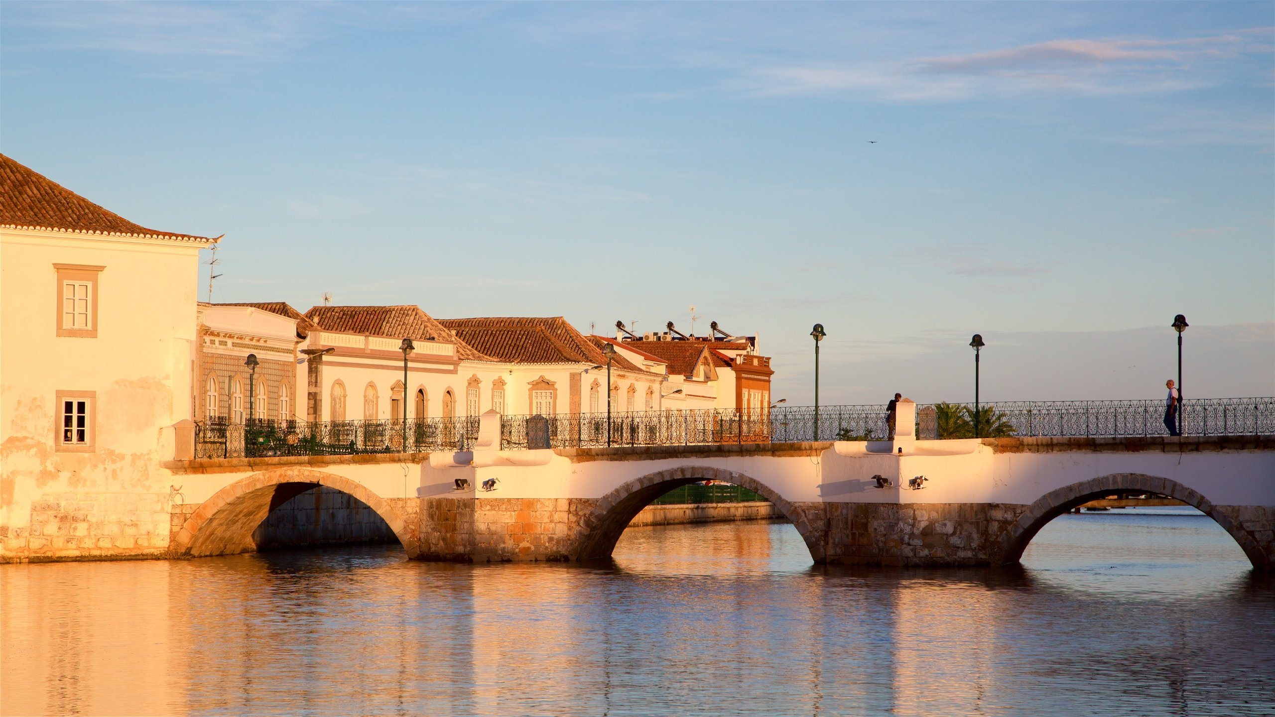 Römische Brücke, Tavira, Bezirk Faro, Portugal