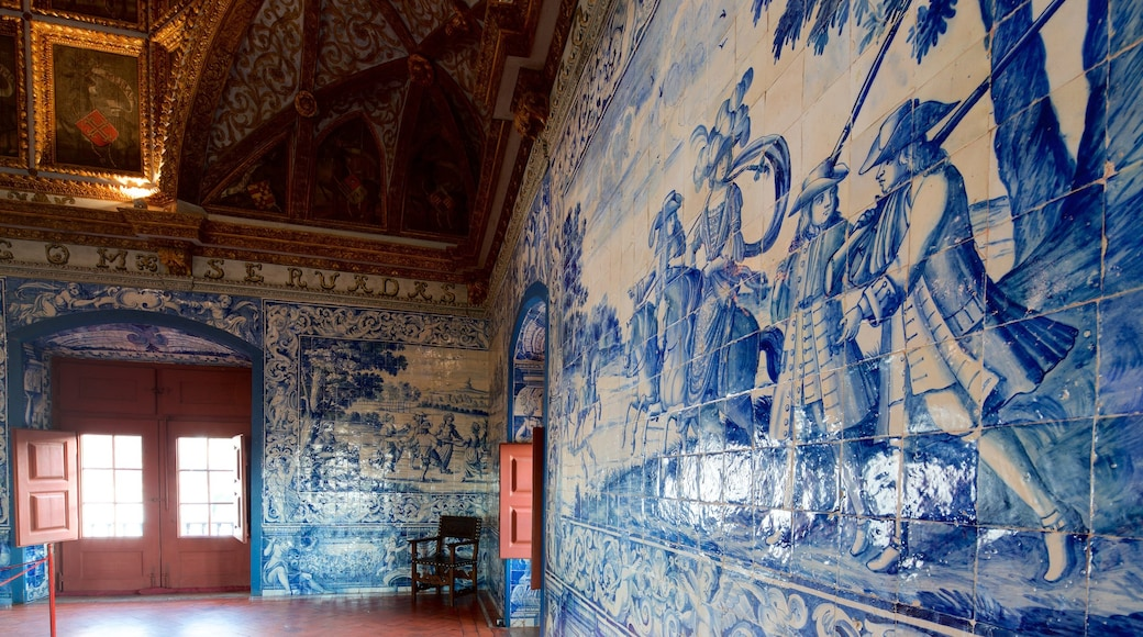Sintra National Palace featuring heritage elements and interior views