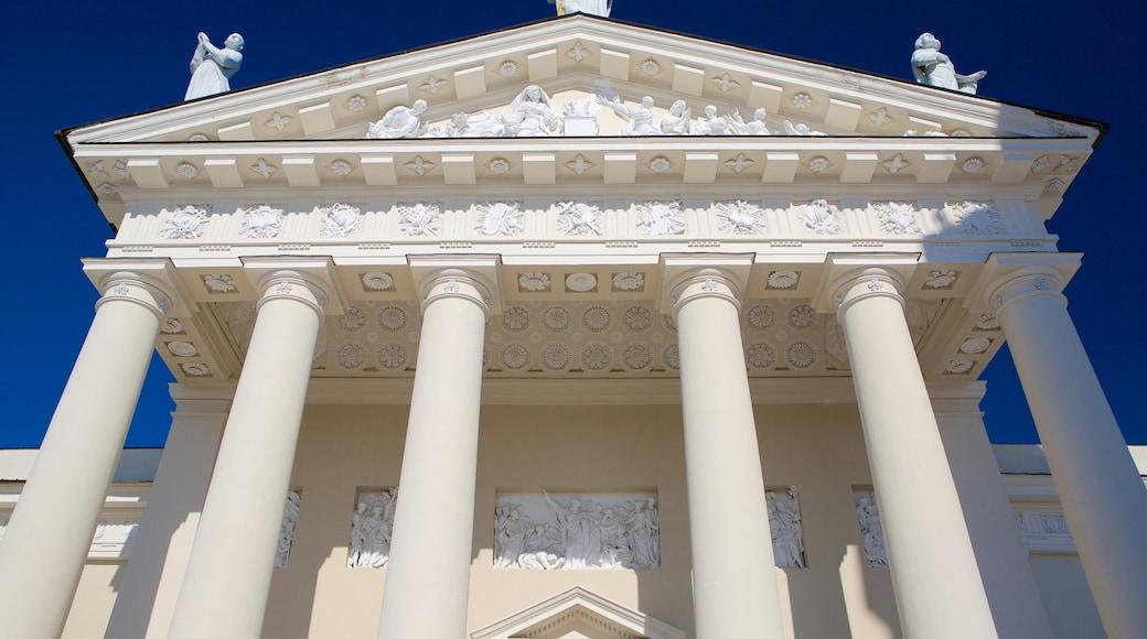 Cattedrale di Vilnius caratteristiche di oggetti d\'epoca