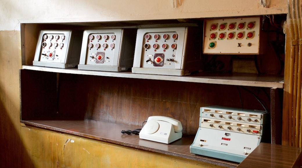 Museo delle vittime dei genocidi caratteristiche di vista interna e oggetti d\'epoca