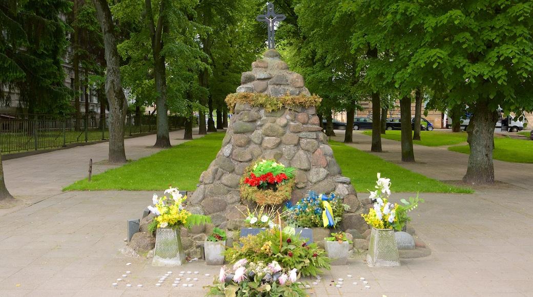 Museo delle vittime dei genocidi caratteristiche di fiori e parco