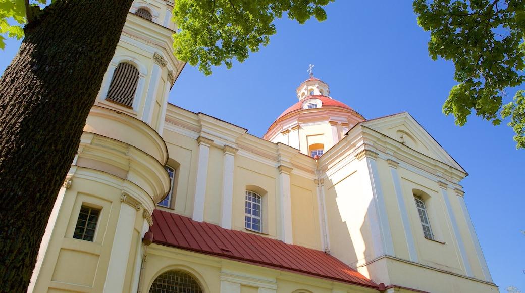 Chiesa dei SS. Pietro e Paolo mostrando chiesa o cattedrale e oggetti d\'epoca