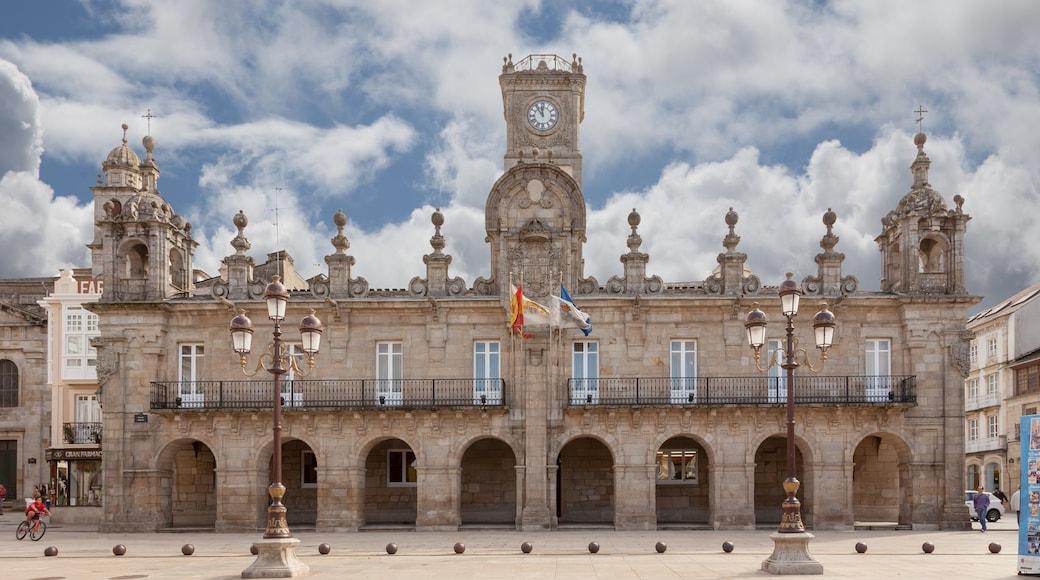 Lugo featuring heritage architecture