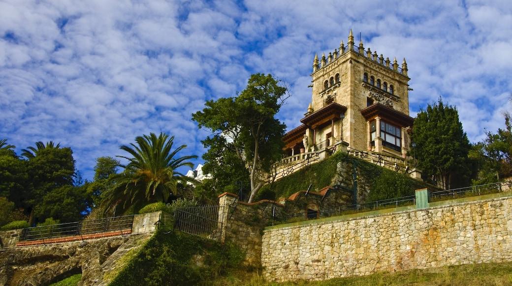 Santander showing heritage elements