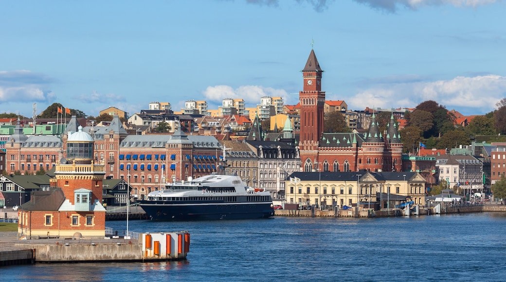 Helsingborg featuring cruising, a city and a bay or harbour
