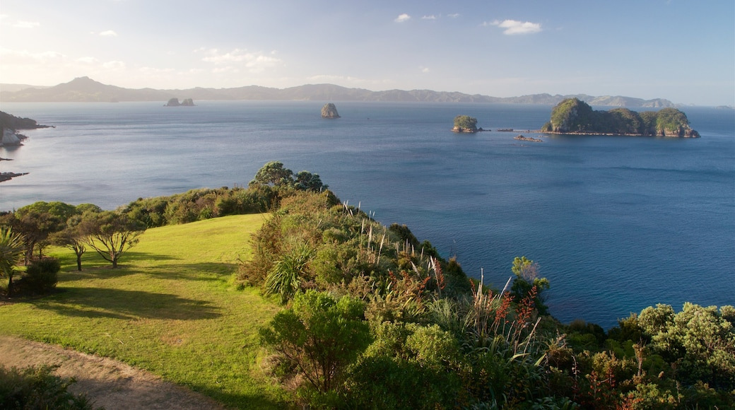 Whitianga which includes island views, a garden and general coastal views