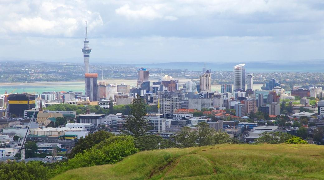Mt. Eden showing a city, landscape views and a high-rise building