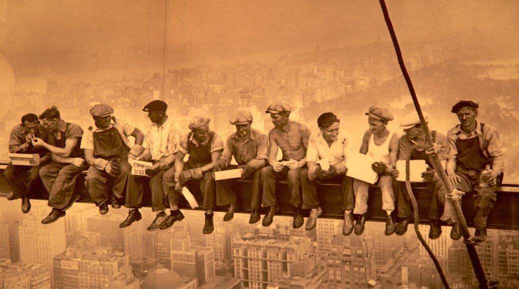 Rockefeller Center som inkluderer kulturarv