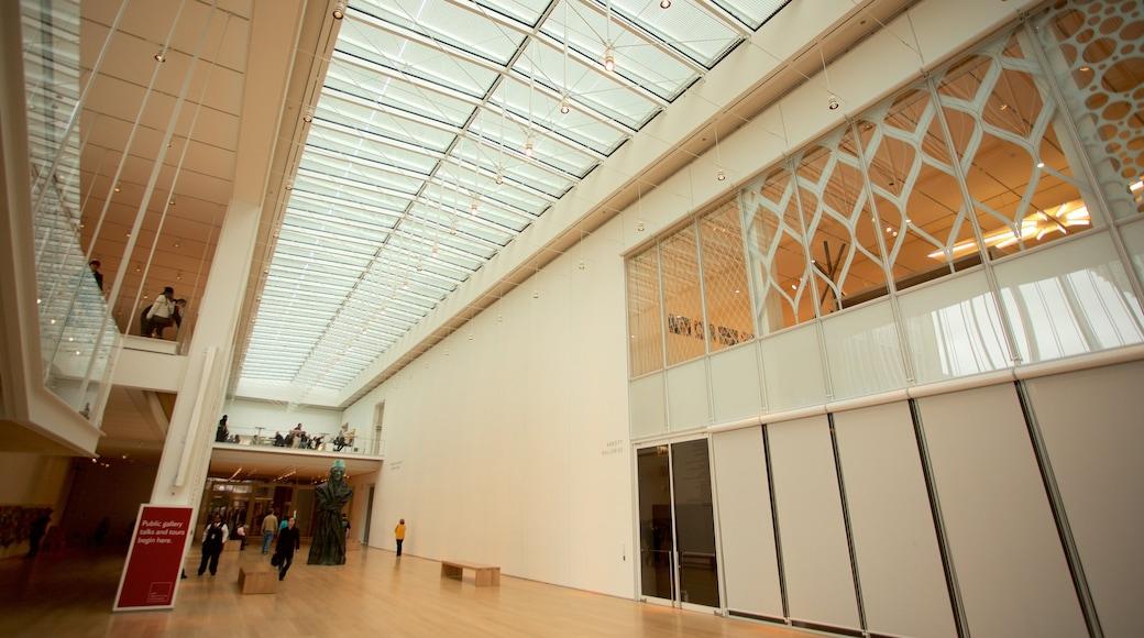 Art Institute of Chicago showing interior views