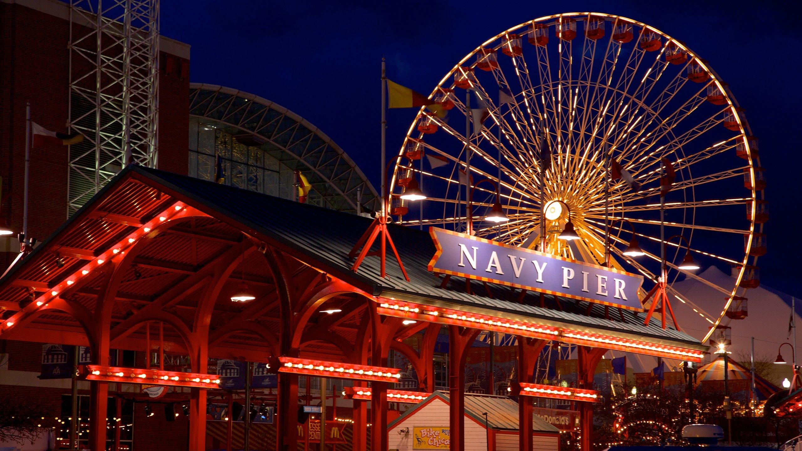 Navy Pier, Chicago, Illinois, Stati Uniti d'America
