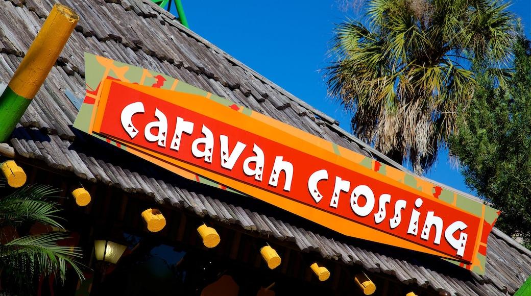Busch Gardens showing signage