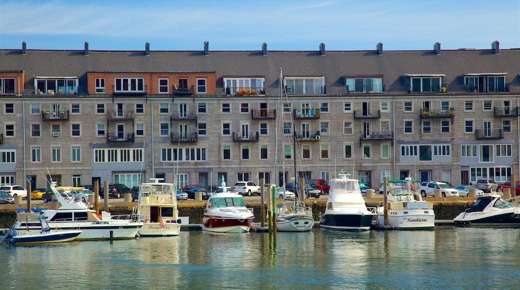 HarborWalk showing a bay or harbour