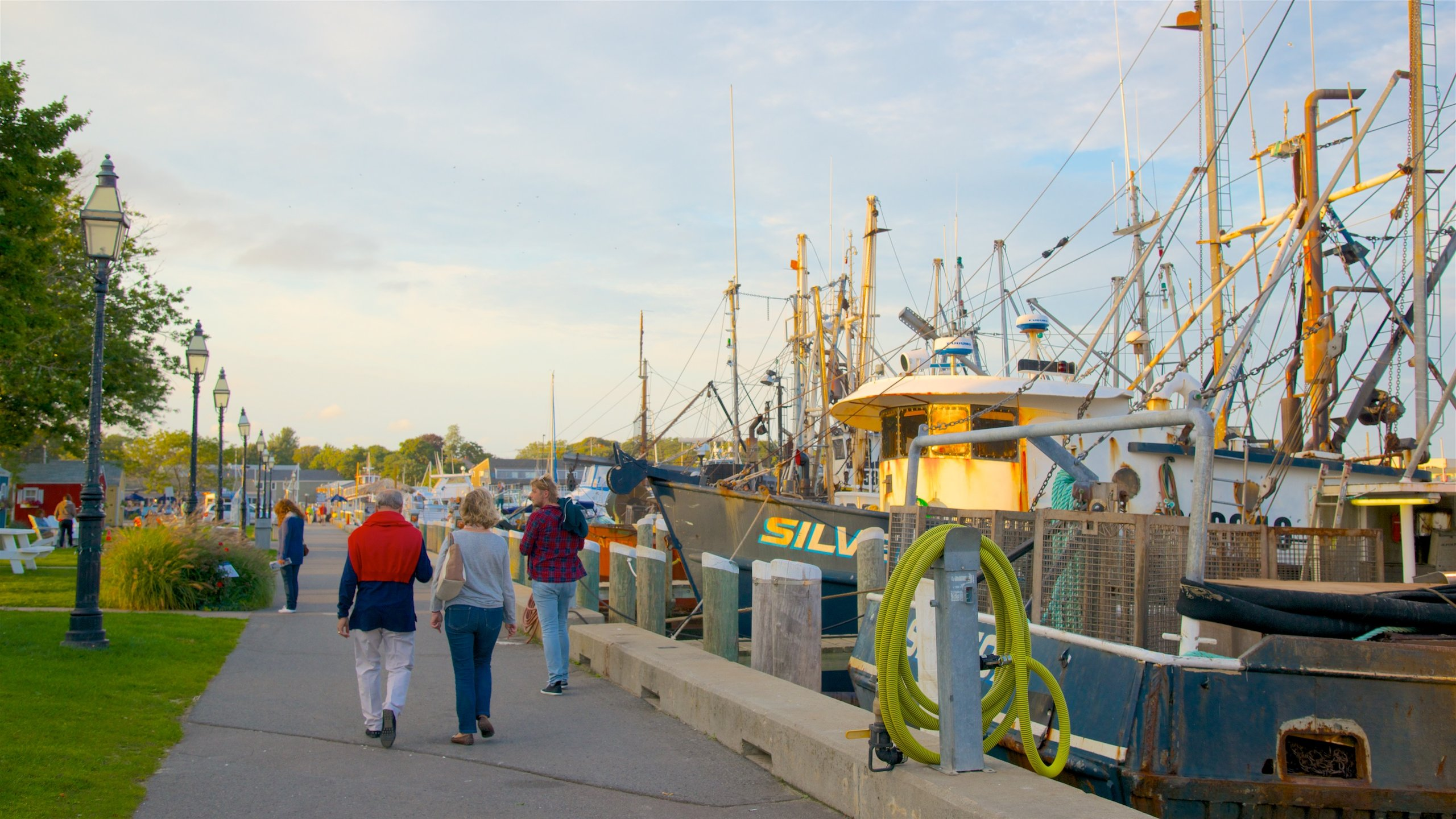 See the Cape Cod peninsula from a different perspective by riding a boat out of this picturesque harbor or wandering along its docks and jetties.