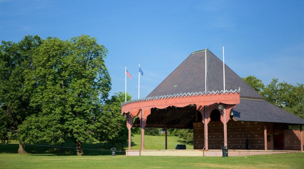 부시넬 파크 이 포함 정원