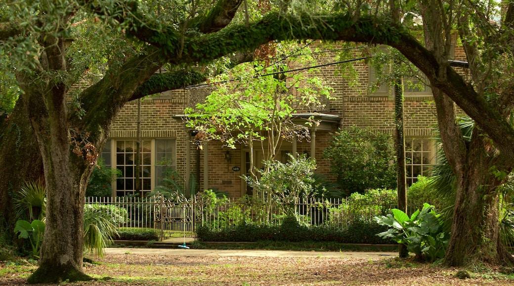 สวนสาธารณะออดูบอน ซึ่งรวมถึง บ้าน และ สวน