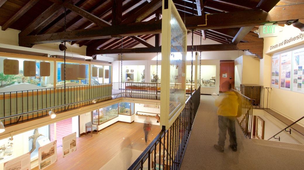 Pacific Grove Museum of Natural History which includes interior views
