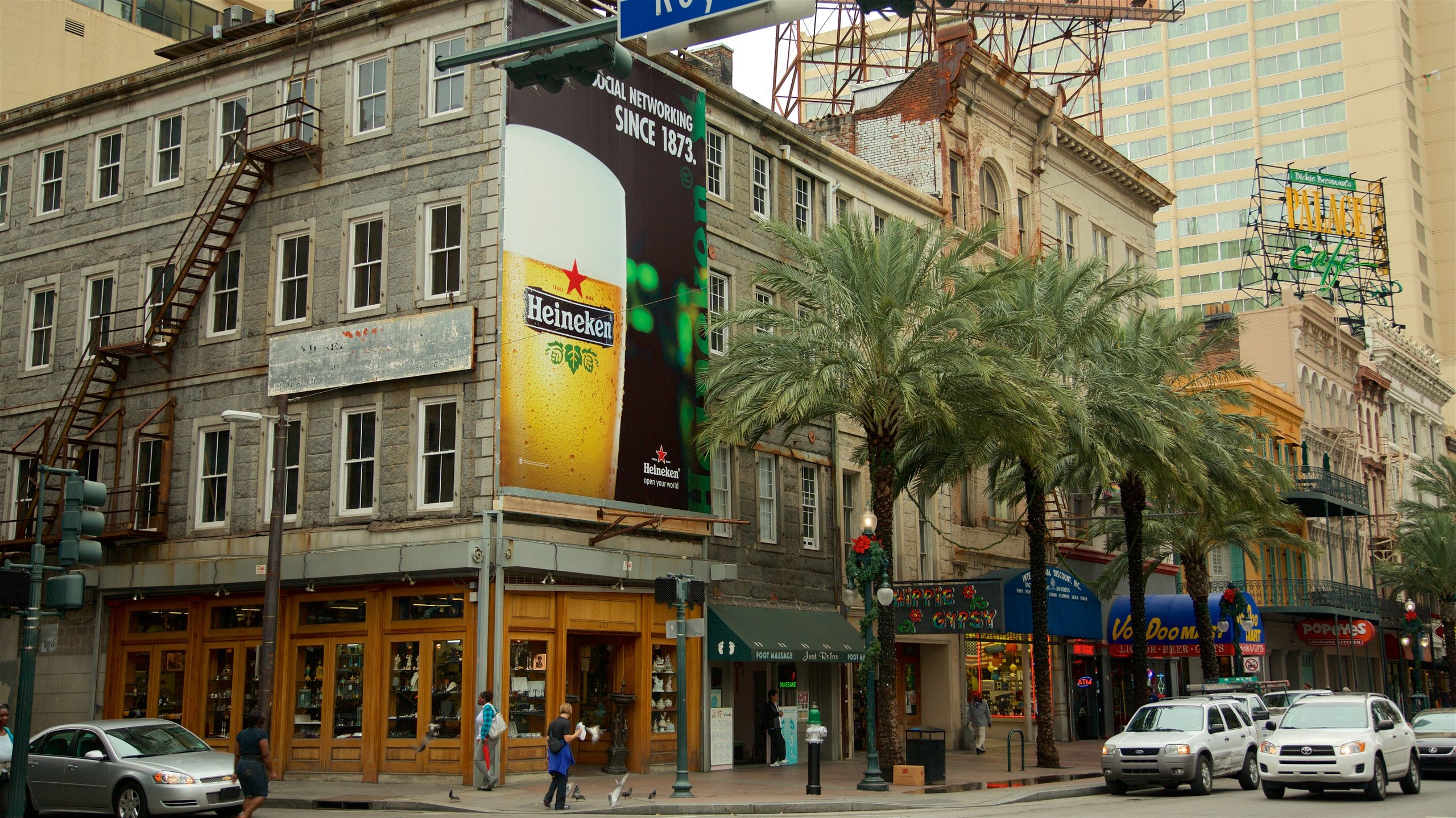 Canal Street, New Orleans, Louisiana, United States of America