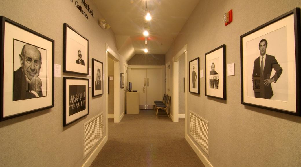 Art Museum of Myrtle Beach featuring interior views