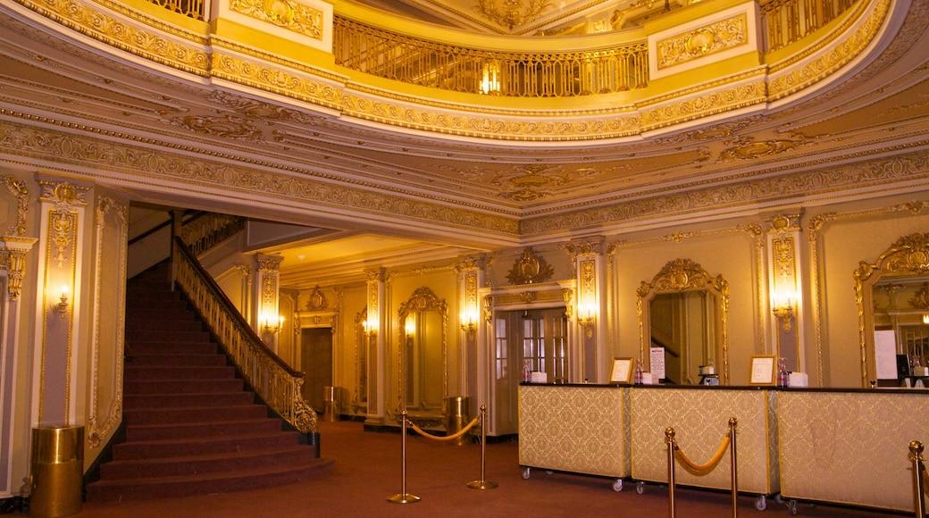 Majestic Theater which includes interior views and theatre scenes