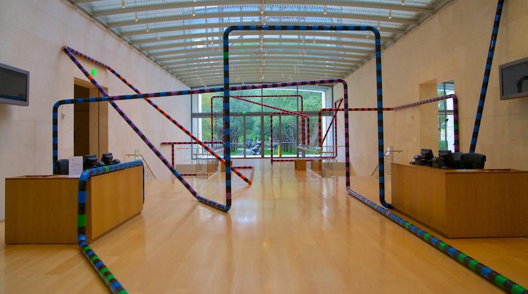 Nasher Sculpture Center featuring art and interior views