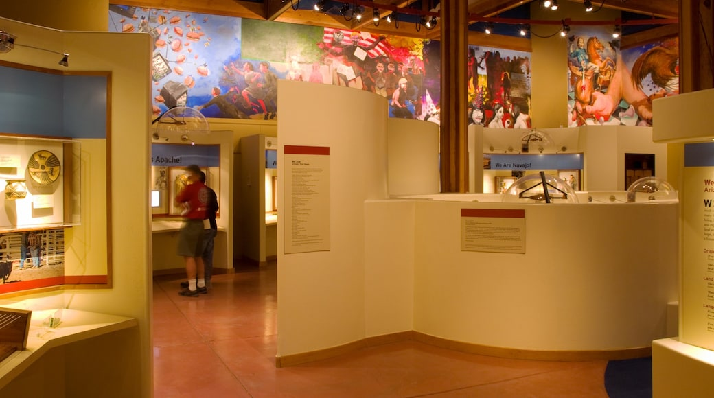 Heard Museum showing interior views and art