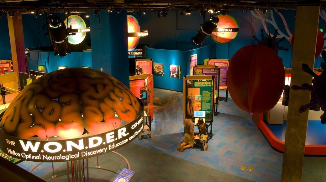 Arizona Science Center featuring interior views