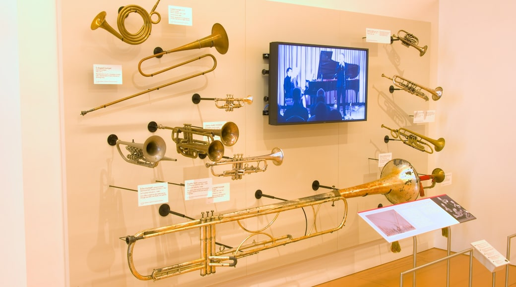 Musical Instrument Museum showing interior views