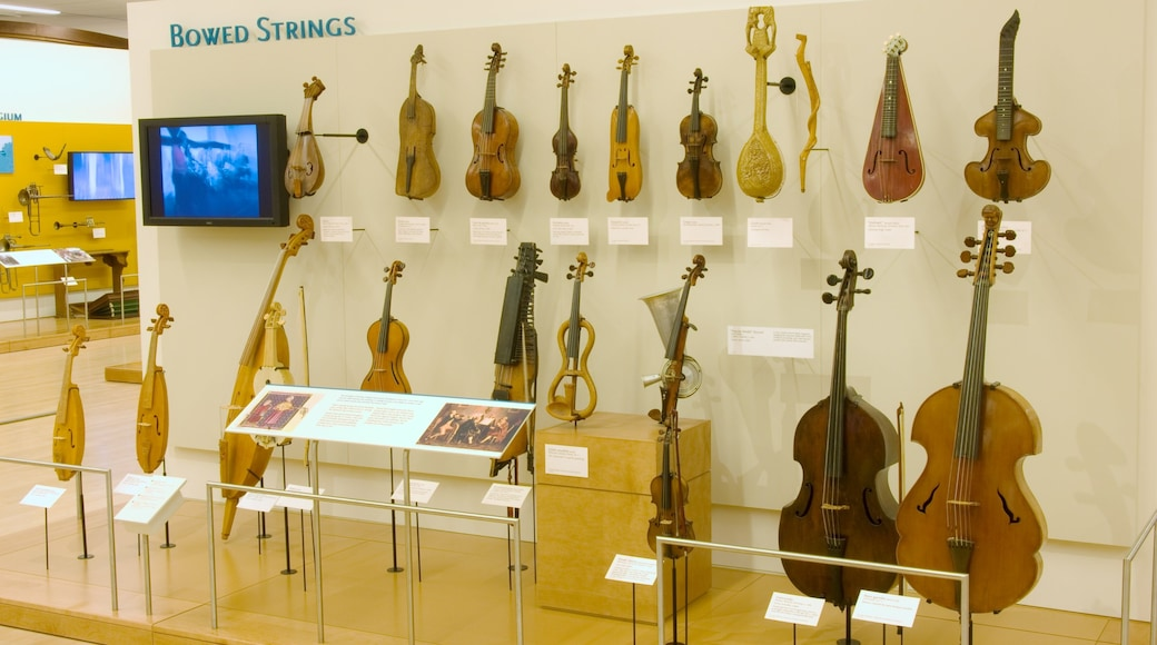 Musical Instrument Museum which includes interior views