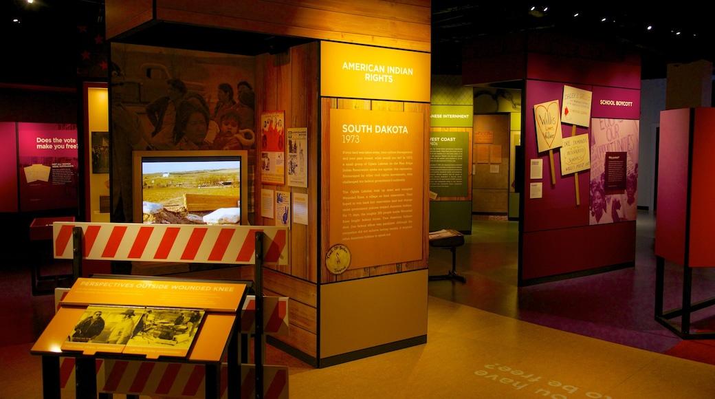 Chicago History Museum mostrando vistas internas
