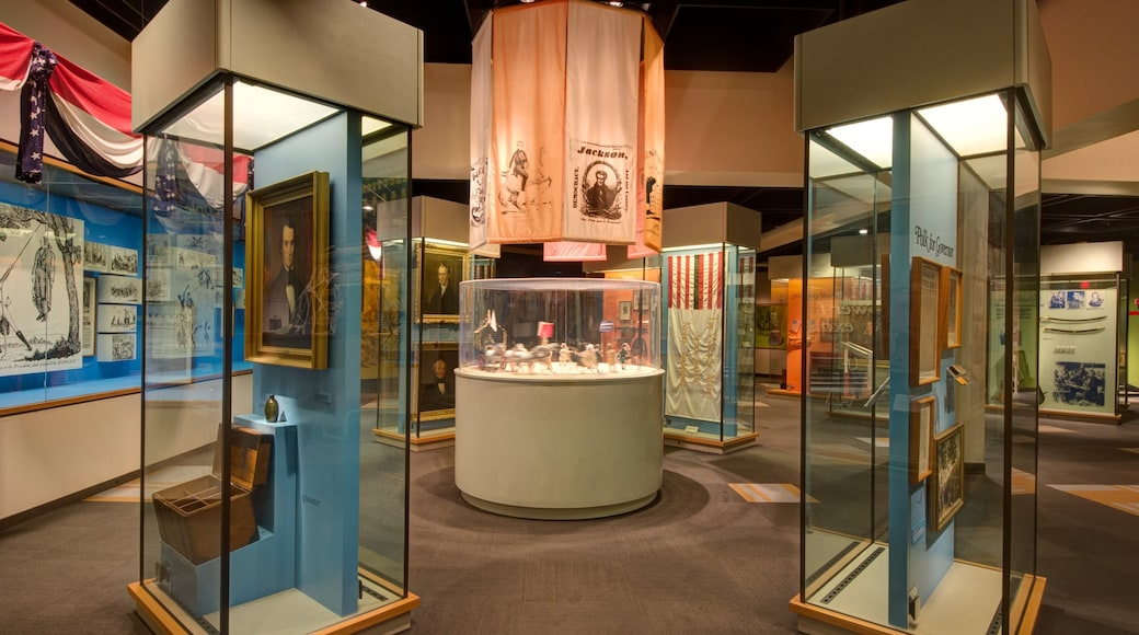 Tennessee State Museum which includes interior views
