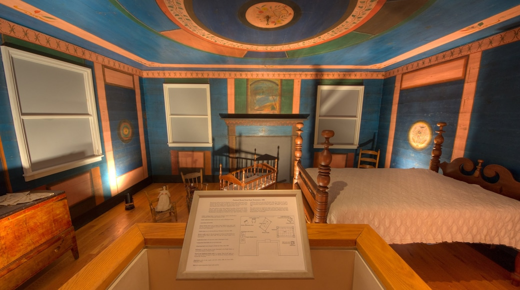 Tennessee State Museum showing interior views