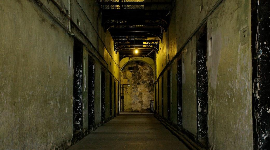 Kilmainham Gaol Historical Museum showing interior views