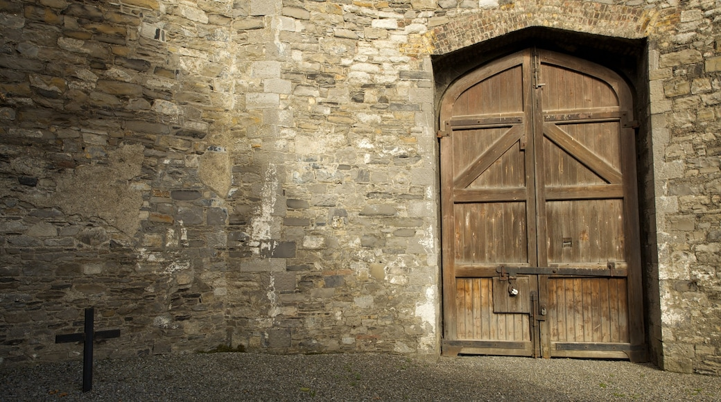 Kilmainham Gaol Historical Museum which includes heritage architecture