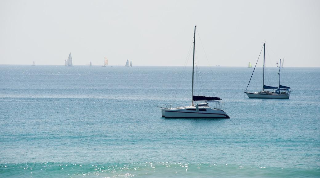 Nai Harn Beach featuring tropical scenes and general coastal views