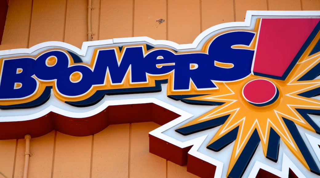 Boomers Fountain Valley featuring signage