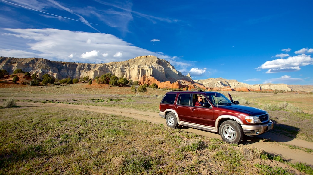 Kodachrome Basin State Park featuring off road driving, tranquil scenes and mountains