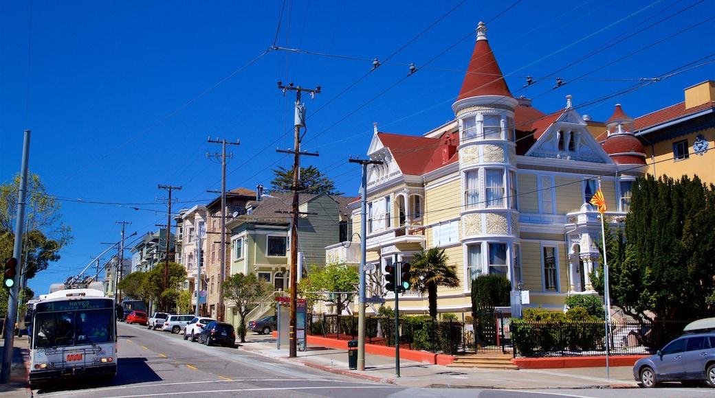 San Francisco mostrando una casa