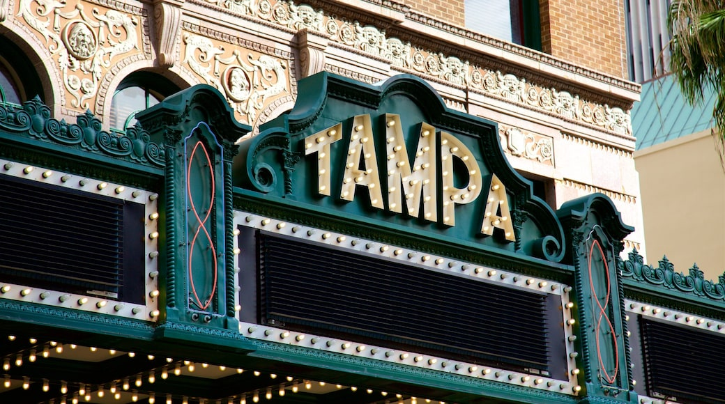 Tampa featuring signage
