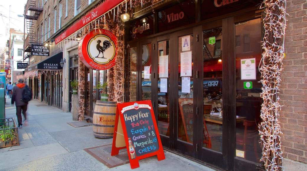 Hell\'s Kitchen showing signage