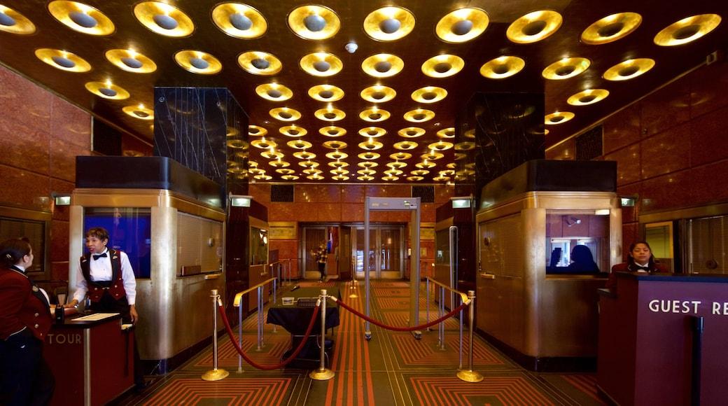 Radio City Music Hall mostrando vista interna