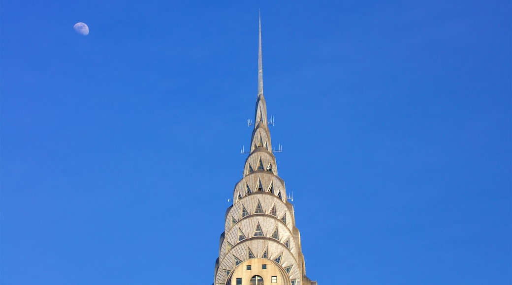 Chrysler Building which includes heritage elements
