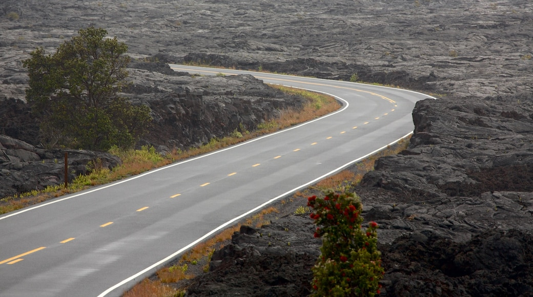 Hawaii Volcanoes National Park featuring tranquil scenes